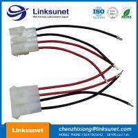 China JST Custom Auto Wiring Harness Pich 5.08MM 4P LCP - 04 UL1015 - 18AWG wholesale