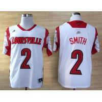 China adidas Louisville Cardinals 2013 March Madness Russ Smith 2 Authentic Jersey - White wholesale