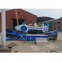China Sliding Model Pirate Ship Amusement Ride BV Certification With Landing Platform wholesale