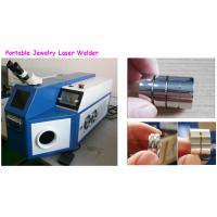 China Stainless Steel / Jewelry Soldering Machine For Jewelry 0.2 - 2.0mm Light Spot Size wholesale