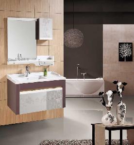 China Bathroom Cabinet / PVC Bathroom Cabinet (W-213) wholesale
