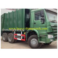 China 6x4 howo Refuse Collection Trucks 14 tons , Big Garbage Truck 20 CBM wholesale