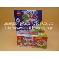 China Various Candy Shapes Green Milk Tablets Lowest Calorie For Entertainments GMP wholesale