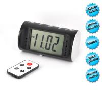 China Remote Control Clock Camera With Video and Photo Shooting Support Motion Detection wholesale