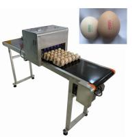 China 12V 4A Eggs Continuous Inkjet Printer , High Speed Inkjet Date Code Printer  wholesale