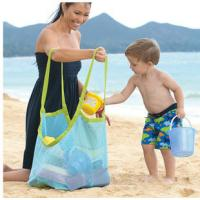 Quality promotional Clothes Toys Carry All Sand Away Beach Bag Mesh Tote Bag for sale
