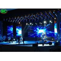 China P3.91 Music Show Ultra Thin Led Video Wall Rental Waterproof Hanging Structure wholesale