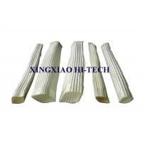 China White Color Wall Braided Heat Insulation Sleeve Flame Retardant 2.0 - 150mm on sale