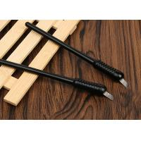 China Blister Packing Black Big Head Sketch Disposable Microblading Pen wholesale