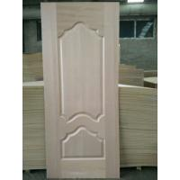 China 5 - 10% Moisture HDF Door Skin High Durabiloity Wood Veneer Door Skin wholesale