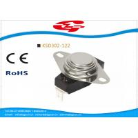 China UL VED approval 3/4' Bimetal Snap Disc Thermostat KSD302-122 for home Appliances wholesale