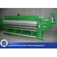 China 1/2'' Welded Wire Mesh Making Machine / Wire Mesh Equipment Low Noise wholesale