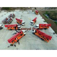 China 30m 33m 37m New Design HOWO Chassis Concrete Boom Pump Truck with Competitive Prices wholesale