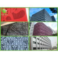 China Perforated Custom Aluminum Panel Metal House Cladding  , Cut To Size Aluminum Sheet wholesale