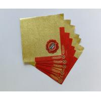 China Professional Beer Neck Aluminum Foil Labels Water Proof Self Adhesive wholesale