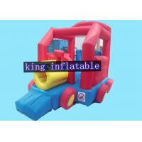 China Snail Shape Commercial Bounce Houses With Slide Of PVC Coated 210D Nylon Fabric wholesale
