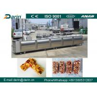 China Candy / Granola Bar Forming Machine , Cereal Bar Making Machine on sale