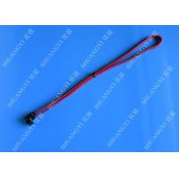 Buy cheap SATA Revision 3.0 Black Laptop SATA Cable Straight To Right Angle SATA 600 from wholesalers