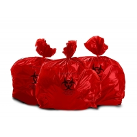 China Bulk Heavy Duty PPE Autoclavable Biohazard Bags on sale