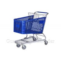 China YLD-PT180-1FB Plastic Shopping Cart,Shopping Cart,Shopping Trolley Manufacturer on sale