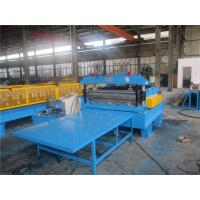 China Automatic Wire Cut To Length Machine 0.3-1.5mm Thickness 20GP Container wholesale