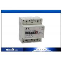 China LED Display Din Rail Electric Meter for Solar Power Supply System 168 ~ 312V AC wholesale