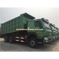 Buy cheap 20m³ HOWO 6x4 371hp Dump Truck Installed With HYVA Brand Middle Lifting With High Lifting Capacity from wholesalers