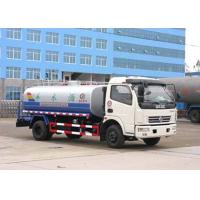 China 8.2 Tons Driving Axle Potable Water Tanker Trucks 5CBM for Landscape Engineering on sale