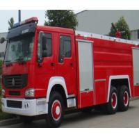 China Manual Transmission Type Fire Extinguisher Truck / Fire Fighting Vehicles 20.000 Liters on sale