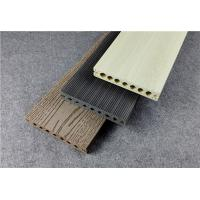 China Wood Plastic Composite Floorings Hollow Co-extrusion DIY Deck Tiles wholesale