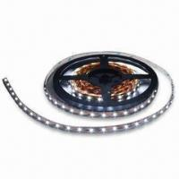 China 60-piece Flexible LED Strip with 14.4W/m Maximum Light Power and 12V DC Voltage wholesale
