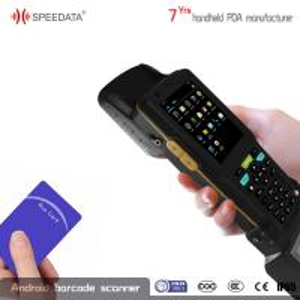8GB ROM Android Handheld RFID Reader , Rugged UHF Scanner PDA Printer