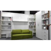 China King Queen Size Sofa Fold Up Murphy Wall Bed Hidden Wall Bed For Guest Room With Bookshelf wholesale