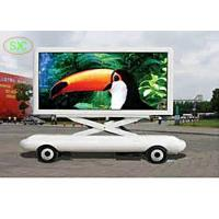 China p 3.91 outdoor Rental  Mobile Truck LED Display , tri color 1R1G1B LED sign board wholesale
