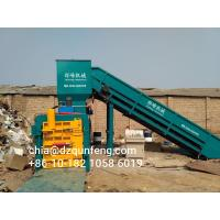 Quality Closed door Manually operation waste paper baler machine with ISO TUV certificated for sale
