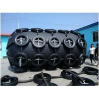 China China Floating Pneumatic Rubber Fender with Chain and Tyre Net wholesale