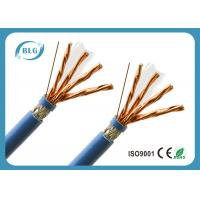 China S / FTP 8 Cores Cat 7 Lan Cable With Skin - Foam - Skin Insulation Anti EMI wholesale