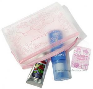 Full printing hello kitty EVA / PVC  ladies cosmetic bags , small make up bags