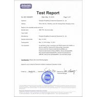 Shanghai Songming Consignation Equipment Co., Ltd Certifications