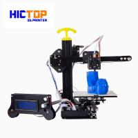 Buy cheap Portable home desktop 3d printer printing size 130*150*100mm , 0.4mm Nozzle from wholesalers