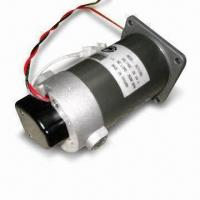 China Geared Servo Motor/Controller Motor with 80mm Diameter and 120W Power Consumption wholesale