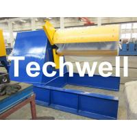 China Custom Hydraulic Auto Recoiler Curving Machine With 0 - 15m/min Rewind Speed wholesale