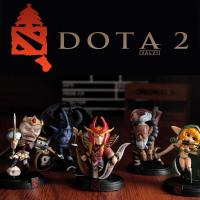China Single Sell DOTA 2 All Styles Game Figure Kunkka Lina Pudge Queen Tidehunter CM FV PVC Action Figures Collection dota2 T wholesale