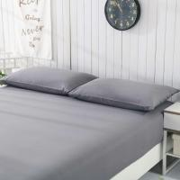 China queen size anti EMF conductive earthing grounding fitted sheet grey color wholesale