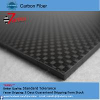 China 5.0mm* 400mm*500mm carbon fiber plate High Modulus carbon fiber laminated sheet wholesale