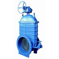 China DN300 , 400 , 500 , 600 Resilient Seated Cast Iron Gate Valve With Bypass wholesale