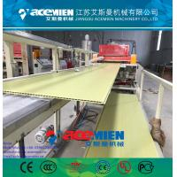 China PVC ceiling panel extrusion machine plastic wall board extrusion line wholesale