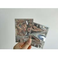 China Customized Structure Aluminium Foil Pouch 5 Mm Side Sealed For Cigarette wholesale