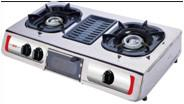 China Gas stove with BBQ grill wholesale