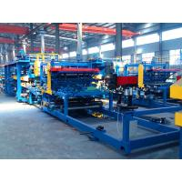 China Automatic PU Foam Sandwich Panel Production Line Good Heat Preservation Capacity wholesale